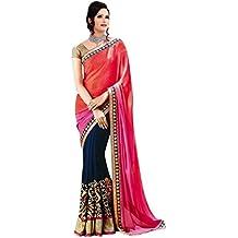 Angel Shoppe, Sari da donna, effetto chiffon, con paillettes e