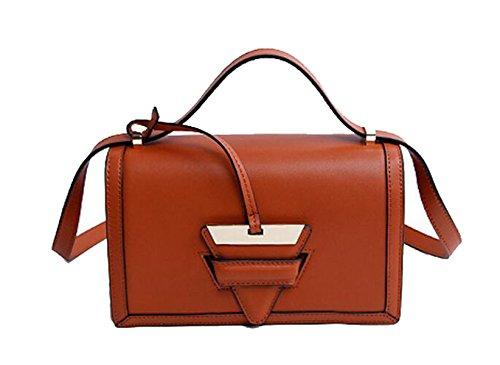 Ms. Messenger Bag In Pelle Brown