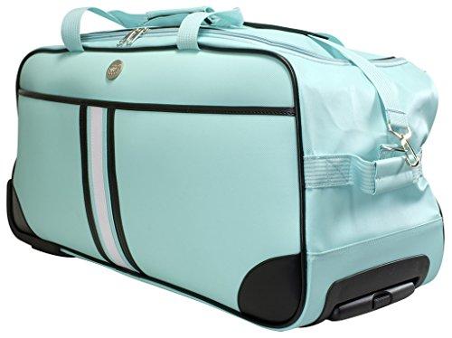Trolleytasche Weichgepäck ca.70x32x34cm ca.77 Liter Farbe mitgrün Material abwaschbares Tarpaulin Trendyshop365