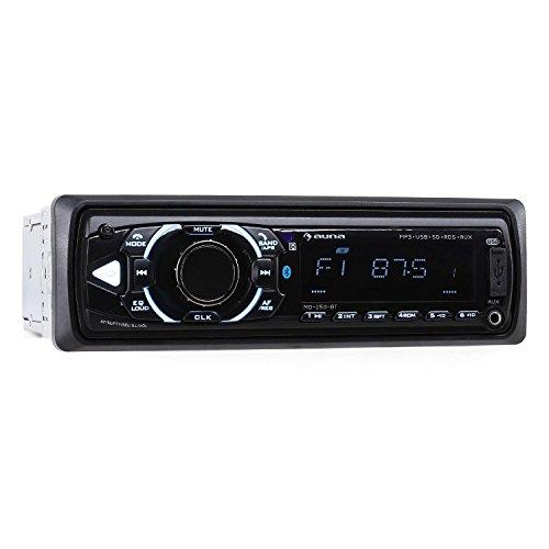 Auna MD-150-BT • Radio Coche HiFi • Radio Bluetooth • Sintonizador Am...