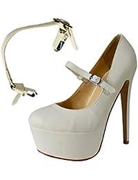 Correas para Zapatos Removibles - Para sujetar zapatos de taco alto flojos, zapatos planos