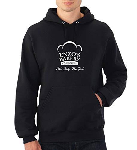 Enzos Bakery The Godfather Italian Edition_A0547 Fan Art Hoodie Sweater Kapuzenpullover Sweatshirt Pullover Funny Christmas LG Black Hoodie