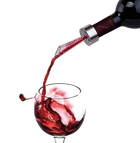zomatch oxygénante Aérateur Bec Verseur conique, bec verseur, Aérer le vin en quelques secondes