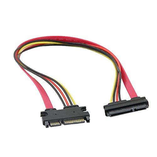 Serial Dongle (50 cm 22 P 7 + 15 Pin M / F Serial ATA SATA Daten Power Combo Verlängerungskabel 50CM 7 + 15 SATA Datenkabel HKFV)
