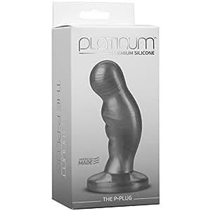 Doc Johnson Platinum The P-Plug C Vibreur Harcoal