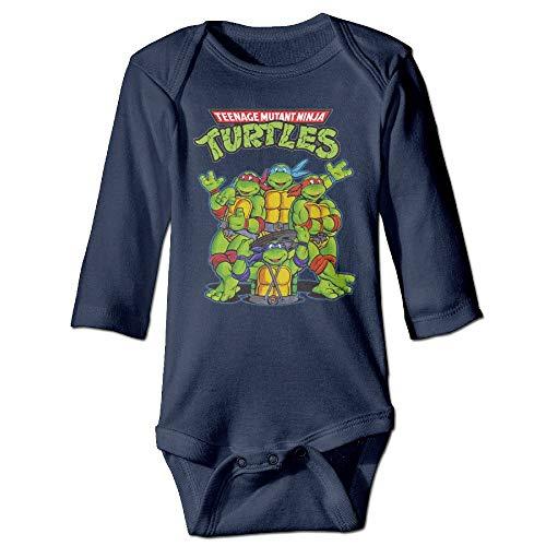 Teenage Mutant Ninja Turtles Long Sleeve Baby Bodysuit 12Months
