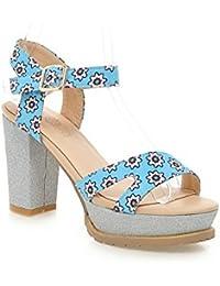 Adee Niñas Lluvia high-heels Poliuretano Sandalias