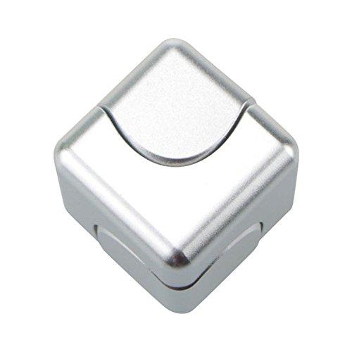Anti-Angst Cube Hand Fidget Spinner Metall Fidget Hand Spinner EDC Spielzeug Focus...
