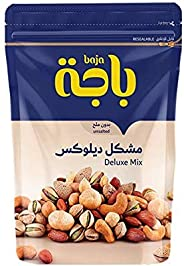 Baja Deluxe Unsalted Mixed Roasted Nuts, 120g - Pack of 1