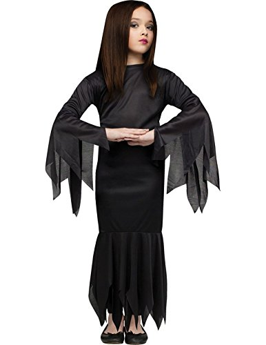 Imagen de child's morticia costume  medium ages 8 10  disfraz