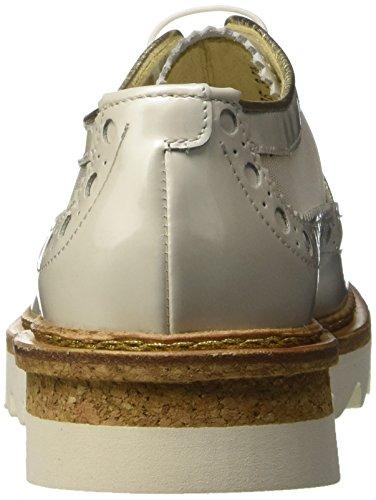 Barracuda Damen Bd0606 Derby-Schuhe Bianco