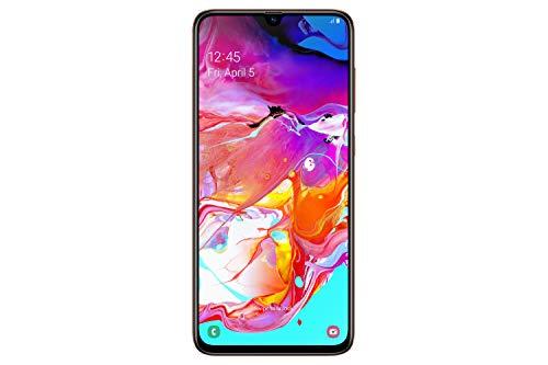 Samsung Galaxy A70 - Smartphone (17.0cm (6,7 Zoll) 128GB interner Speicher, 6GB RAM, Dual Sim, Orange) - Deutsche Version Super 8 Video Kamera