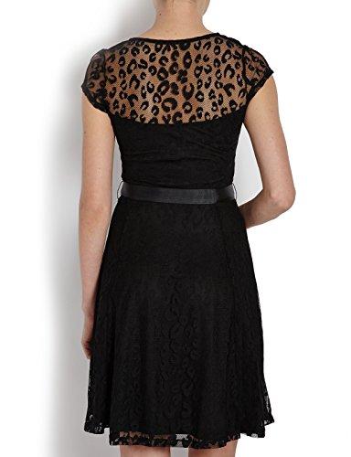 Morgan Damen Kleid 151-rorot.p Schwarz