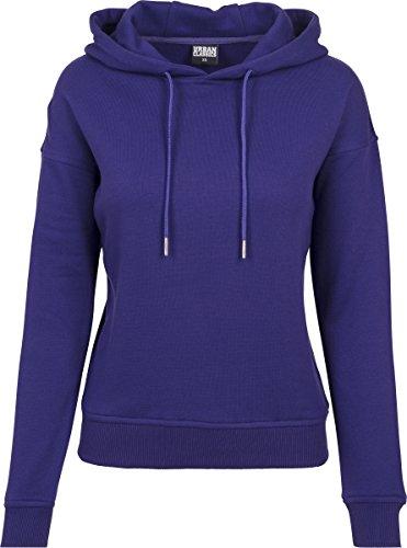 Urban Classics Damen Kapuzenpullover Ladies Hoodie, Violett (Regal Purple 01147), Small Purple Classic Hoody Sweatshirt