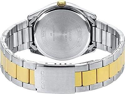 Casio Reloj Analógico para Mujer de Cuarzo con Correa en Acero Inoxidable LTP-1302PSG-7AVEF de Casio