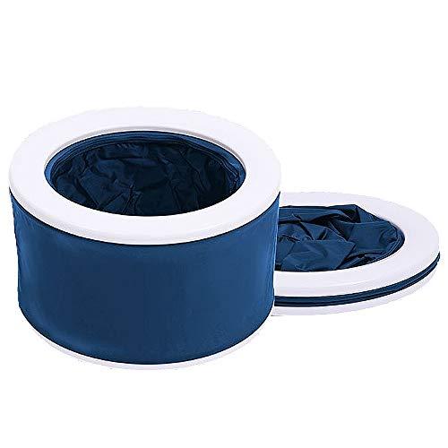 Tragbare Toiletten, Camping Toilette Travel Loo Chemietoilette mit Toilettenspülung für Wohnwagen und Boote
