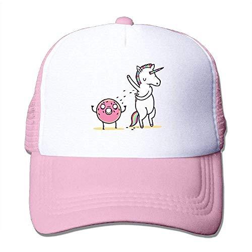 Hoswee Unisex Kappe/Baseballkappe, Men Women Mesh Back Core Baseball Cap How to Decorate A Donut Snapback Hat -