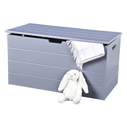 Stauraum Brust grau, skandinavischen inspiriert, mit Softclose Scharniere für Sicherheit und einfach reinigen Zeilen. Seaton Serie von Elegante Marken