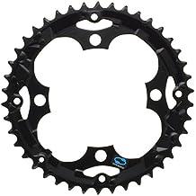 Shimano - Plato para cadena de bicicleta Talla:44 Zähne schwarz LK 104