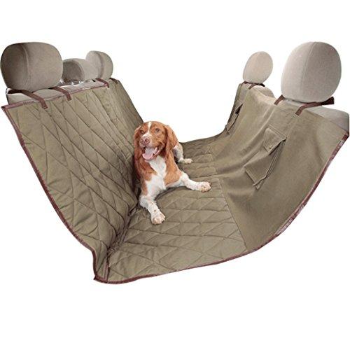 Funda para asiento de perro lenezaro protectora asiento de coche impermeable Funda para de traseros de coche Tejido impermeable Oxford hamaca coche universal para coche cami/ón suv-130/* 150/* 55/cm