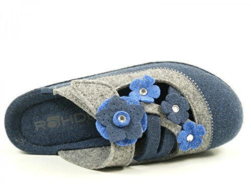 Rohde Neustadt-D, Sabots Femme Blau
