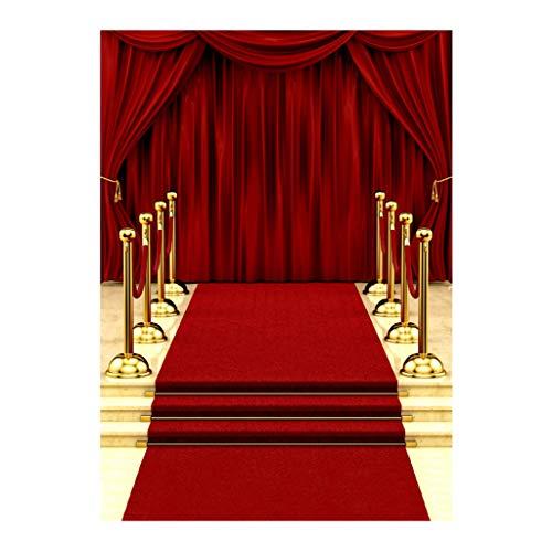Vinyl Fotografie Hintergrund RED Carpet Hintergrund Studio Requisiten ()