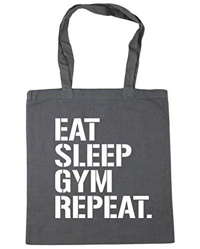 hippowarehouse-eat-sleep-gym-repeat-sac-shopping-gym-sac-de-plage-42-cm-x38-cm-10-litres-gris-taille