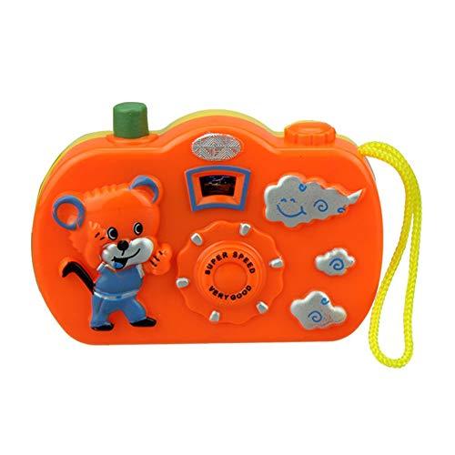 Vimbhzlvigour Fun Dessin animé Camera jouet, 8 Motifs Changer bébé enfants Early Educational Toys – Couleur aléatoire