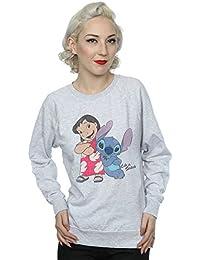 3eecdbbb74c81 Disney Femme Classic Lilo   Stitch Sweat-Shirt