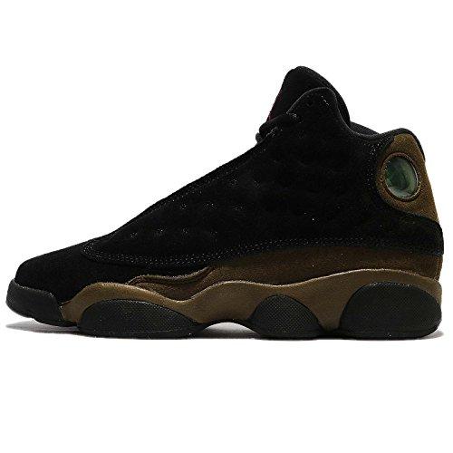 AIR JORDAN 13 Retro BG (GS) 'Olive' - 884129-006 - Size 7y-US & 40-EU (Retro Jordans 13)
