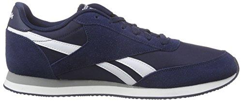 Reebok Herren Royal Classic Jogger 2 Sneakers Blau (Collegiate Navy/White/Baseball Grey)