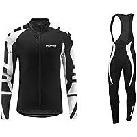 Uglyfrog Bike Wear Vestiti Ciclismo Magliette Jersey+Long Bib Pantaloni Tight Body Sets Uomo Mountain Bike Manica Corta Camicia Top