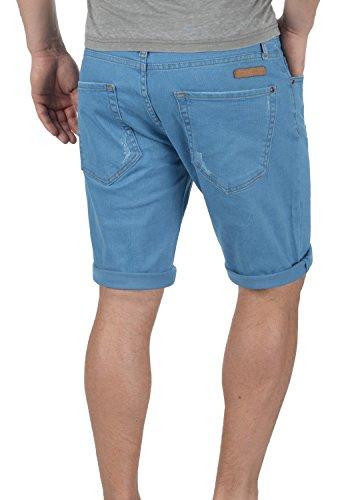 REDEFINED REBEL Monfire Herren Jeans-Shorts kurze Hose Denim aus hochwertiger Baumwollmischung Dusty Blue
