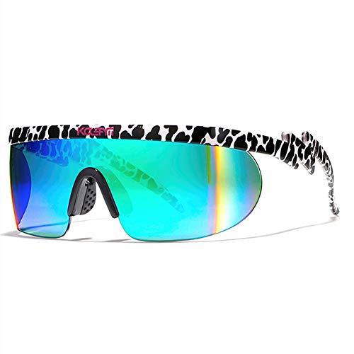 Fourthomme Herren Trend Big Box Polarisierte Sonnenbrille Winddichte Brille Outdoor-Sport-Sonnenbrille Herren Sonnenbrille Weihnachtsgeschenk (Stil 3)