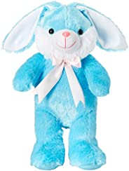Amazon Brand - Jam & Honey Long Ears Rabbit, Blue,
