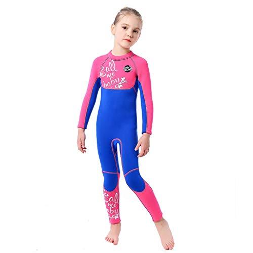 r Sonnenschutz Badeanzug langärmeliger Einteiler Tauchanzug schnell trocknende Surfbekleidung Badeanzug ()