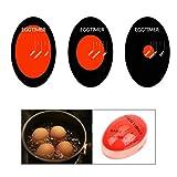 Zonster Egg Tools bollite Resina Egg Timer Cambiare Colore Gadget da Cucina Strumenti
