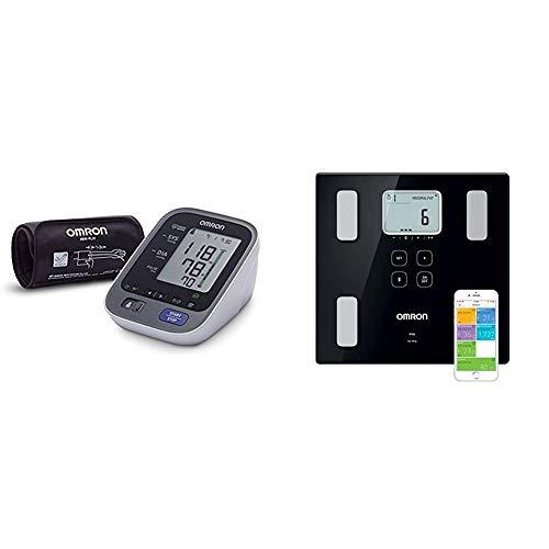 OMRON M7 Intelli IT Misuratore di Pressione da Braccio, Connessione Bluetooth per App OMRON Connect + OMRON VIVA Bilancia Diagnostica Smart, Bluetooth