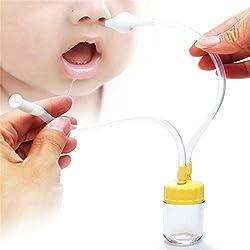 1 Pieza Bebé Aspirador Nasal Limpiador De Nariz Niños Cleaner Nariz Succión Para Limpiar Moco