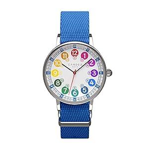 Cander Berlin MNA 1030 J Kinderarmbanduhr Kinderuhr Armbanduhr Jungen Uhr 12-/24-Stunden