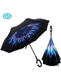 Lady of Luck Blase Regenschirm romantische Kirsche klar Regen Regenschirm halb-Automatik Durchsichtiger Maple Regenschirm Kuppel Transparent Hochzeitsschirm