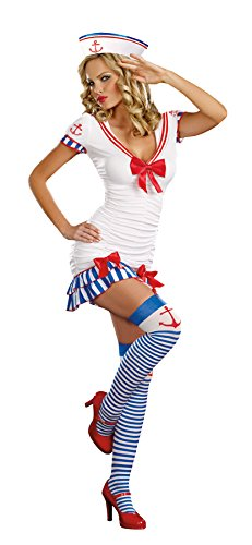 Dreamgirl Sailor Pin Up Kostüm _ (Pinup Kostüme Sailor)