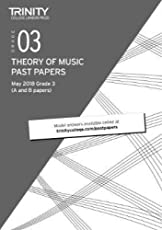 Theory of Music Past Papers May 2018 Grade 3