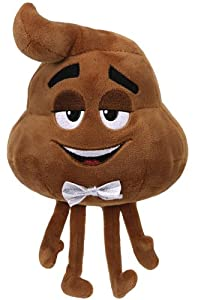 Ty- The Movie Poop, Emoji, 15 cm (United Labels Ibérica 42297TY)