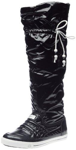 Onitsuka Tiger - Sneaker Donna, Nero (Noir/blanc), 38