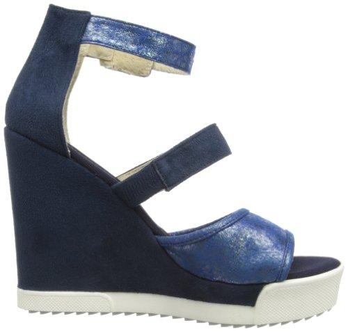 Gas Footwear Fox, a bride femme Bleu - Bleu marine