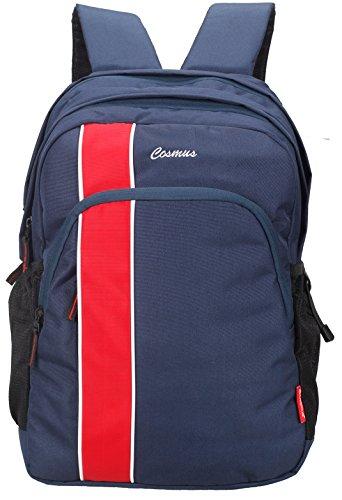 Cosmus Hurricane Casual College Backpack / School Bag (Navy Blue)