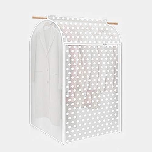 QFFL Sac de compression sous vide Couverture anti-poussière de vêtements, sac de poussière suspendu à vêtements, rides résistantes à l'humidité de ménages 12 modèles Sac de protection