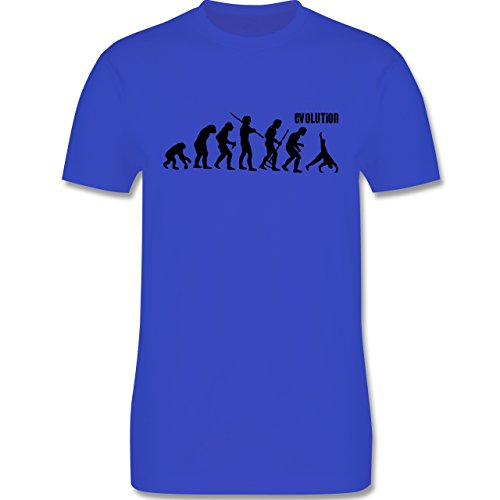 Evolution - Turnen Evolution - Herren Premium T-Shirt Royalblau