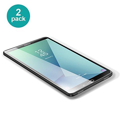 POSUGEAR Samsung Galaxy Tab A 10.1 Panzerglas Schutzfolie, 2 Stück Panzerglasfolie Ultra-Klar 9H Härte Displayschutzfolie für Samsung Galaxy Tab A 10.1 2016 T580/T580N